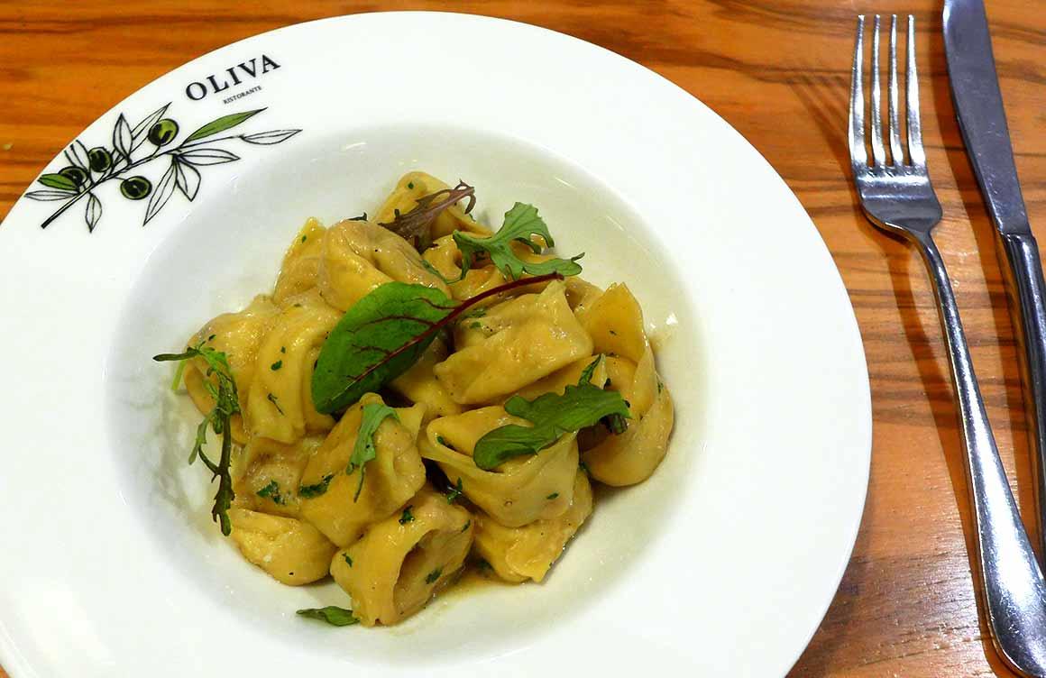 Restaurant Oliva, Tortellini casarecci di carne