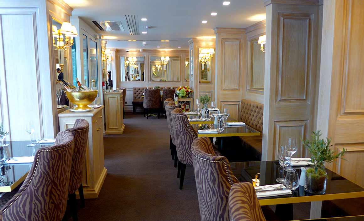 Restaurant Tosca, la salle