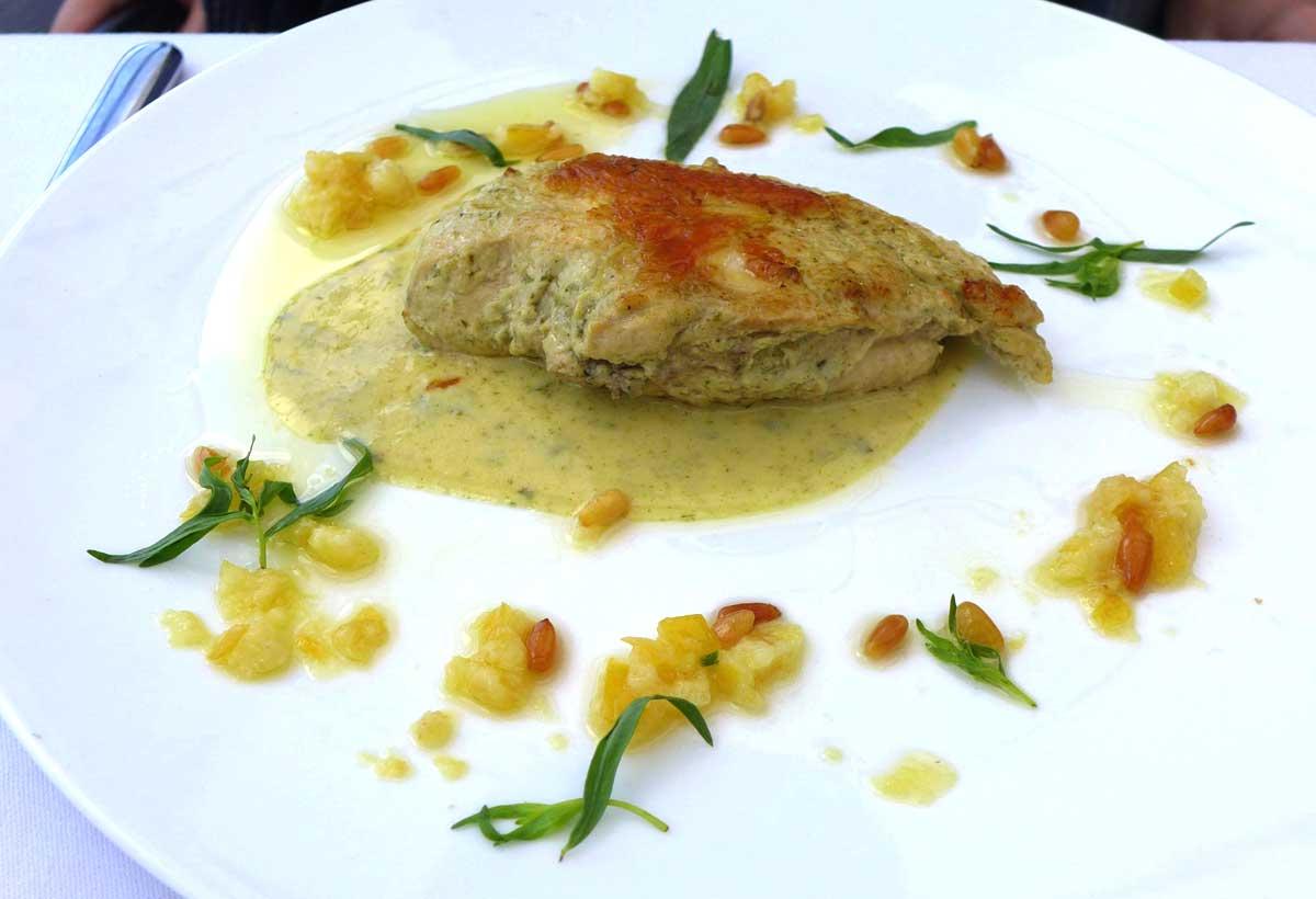 Ô Restaurant : Suprême de poulet mariné au citron