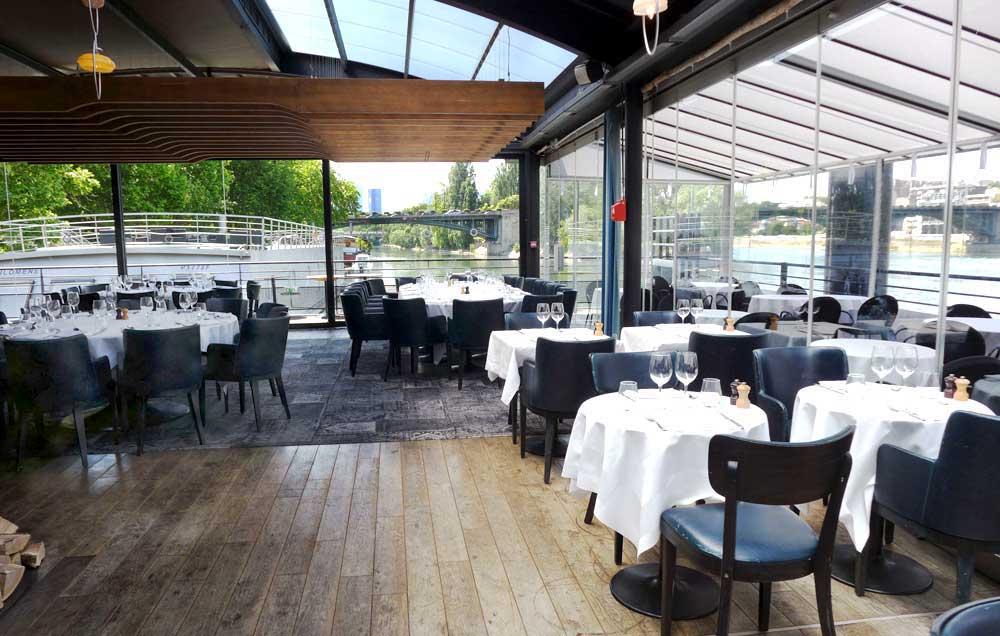 Ô Restaurant : La salle