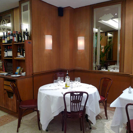 Restaurant Samesa, Le confort de la salle