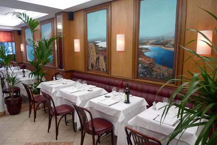 Restaurant Samesa, La salle