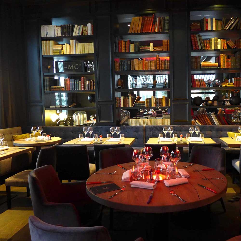 Restaurant Saperlipopette : La salle