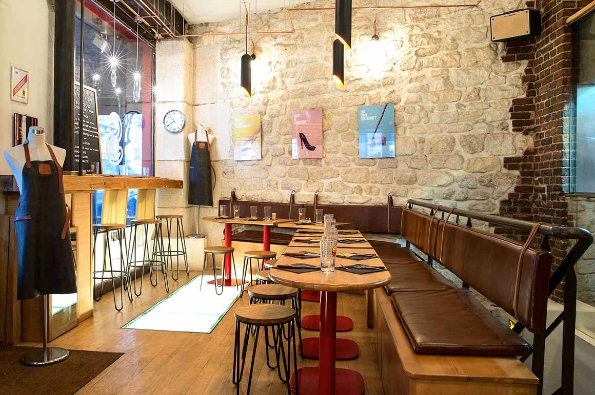 Restaurant Saucette : La salle