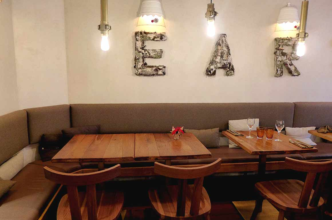 Restaurant Sense Eat, la salle