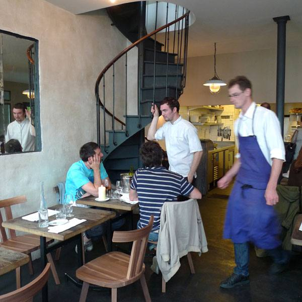 Restaurant Septime, l'ambiance du restaurant