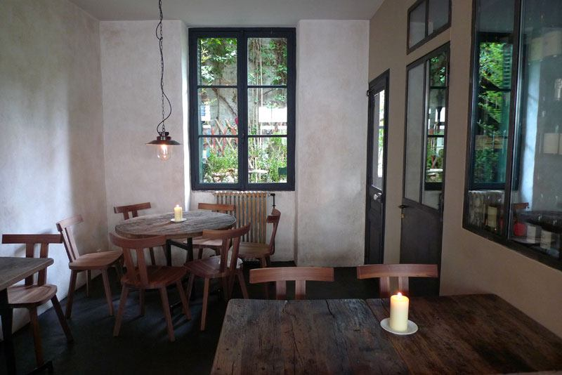 Restaurant Septime, la salle