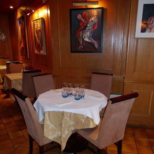 Restaurant Sizin, Le confort des tables