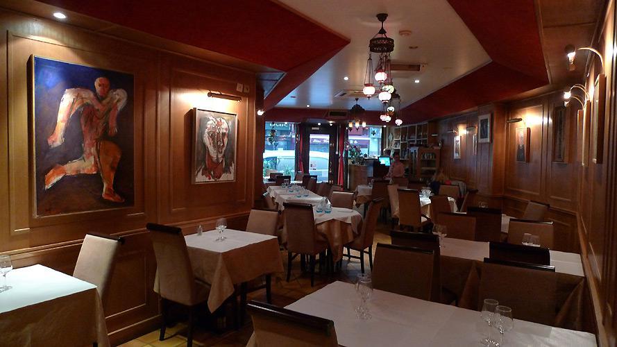 Restaurant Sizin, La salle
