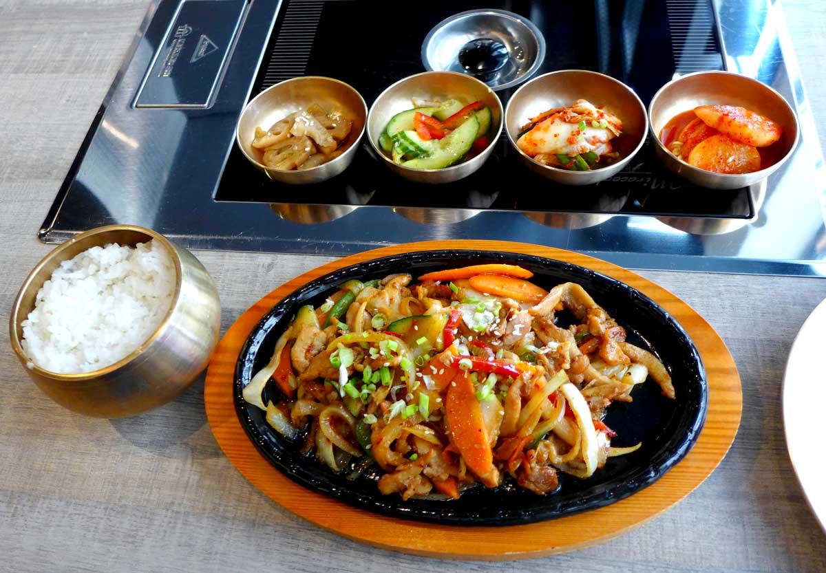 Restaurant Soon Grill : Poulet sauce piquante