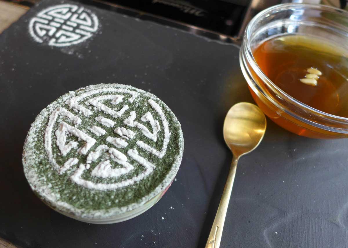 Restaurant Soon Grill : Tiramisu coréen
