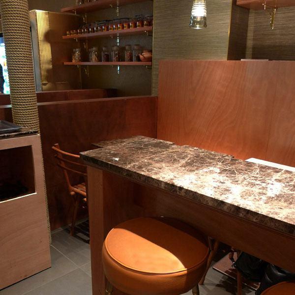 Restaurant Sum, décoration sobre et élégante