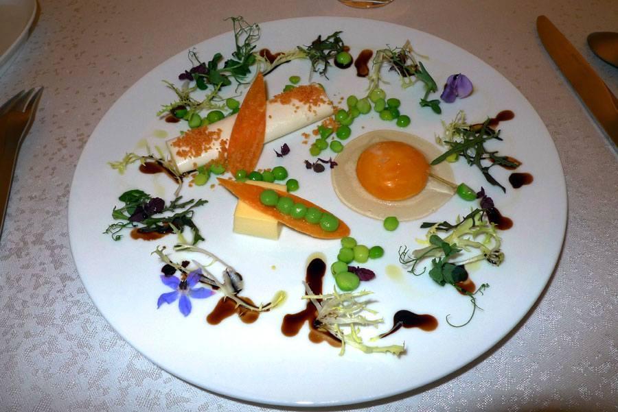 Restaurant Mandarin Oriental : L'oeuf éclaté