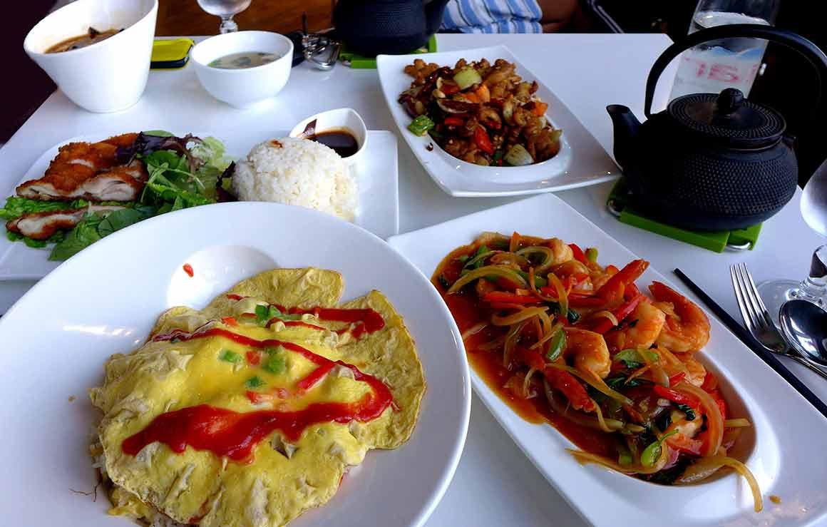 Restaurant Panasia Beaugrenelle : Poulet frit sauté au piment