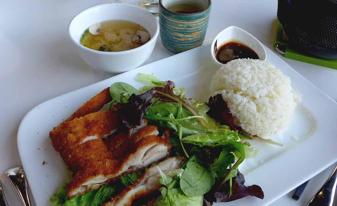 Restaurant Panasia Beaugrenelle : Poulet pané japonais