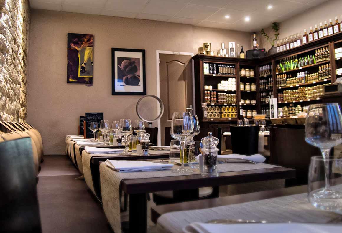 Restaurant Truffes Folies : La salle