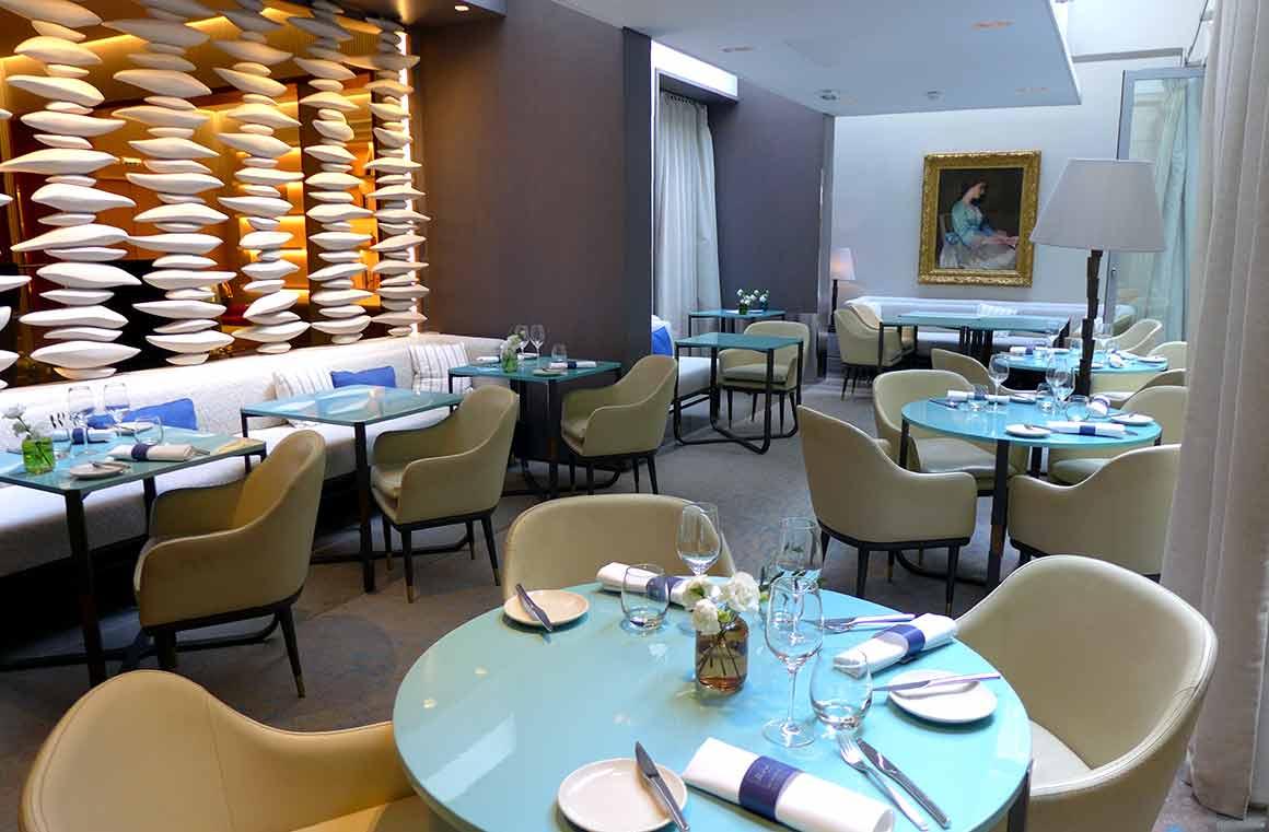 Restaurant Hôtel de Sers, La salle
