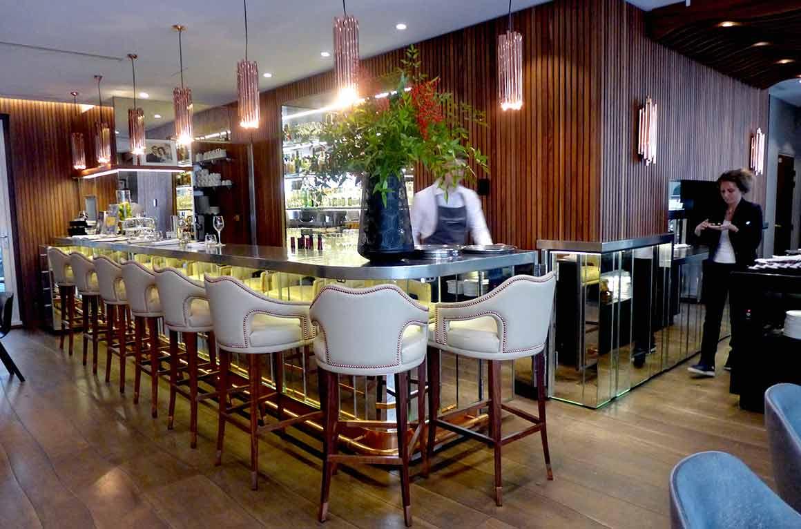 restaurant Odette la salle et le bar
