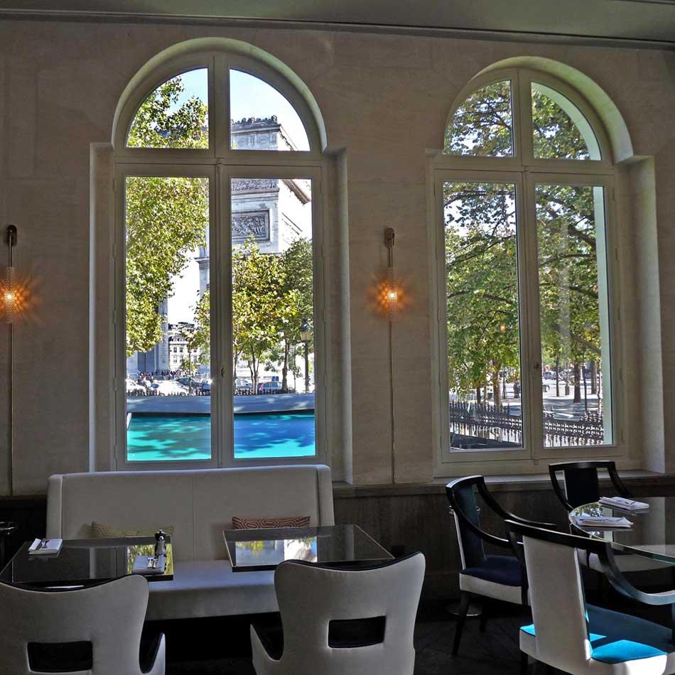 Restaurant Victoria 1836, La salle