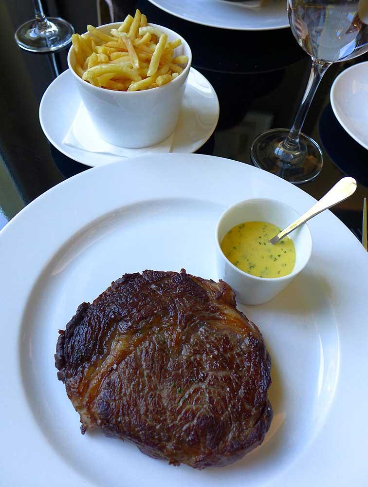 Restaurant Victoria 1836, Filet de bœuf sauce béarnaise