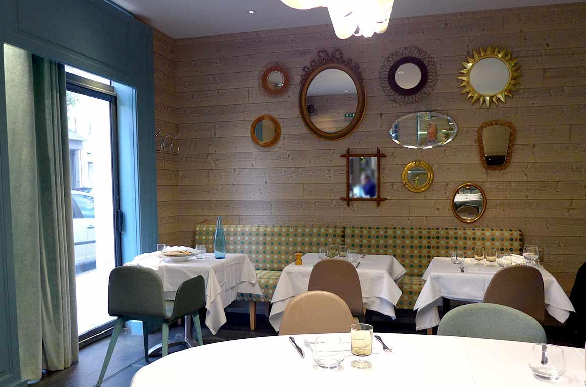Restaurant Vin et Marée Murat, une salle
