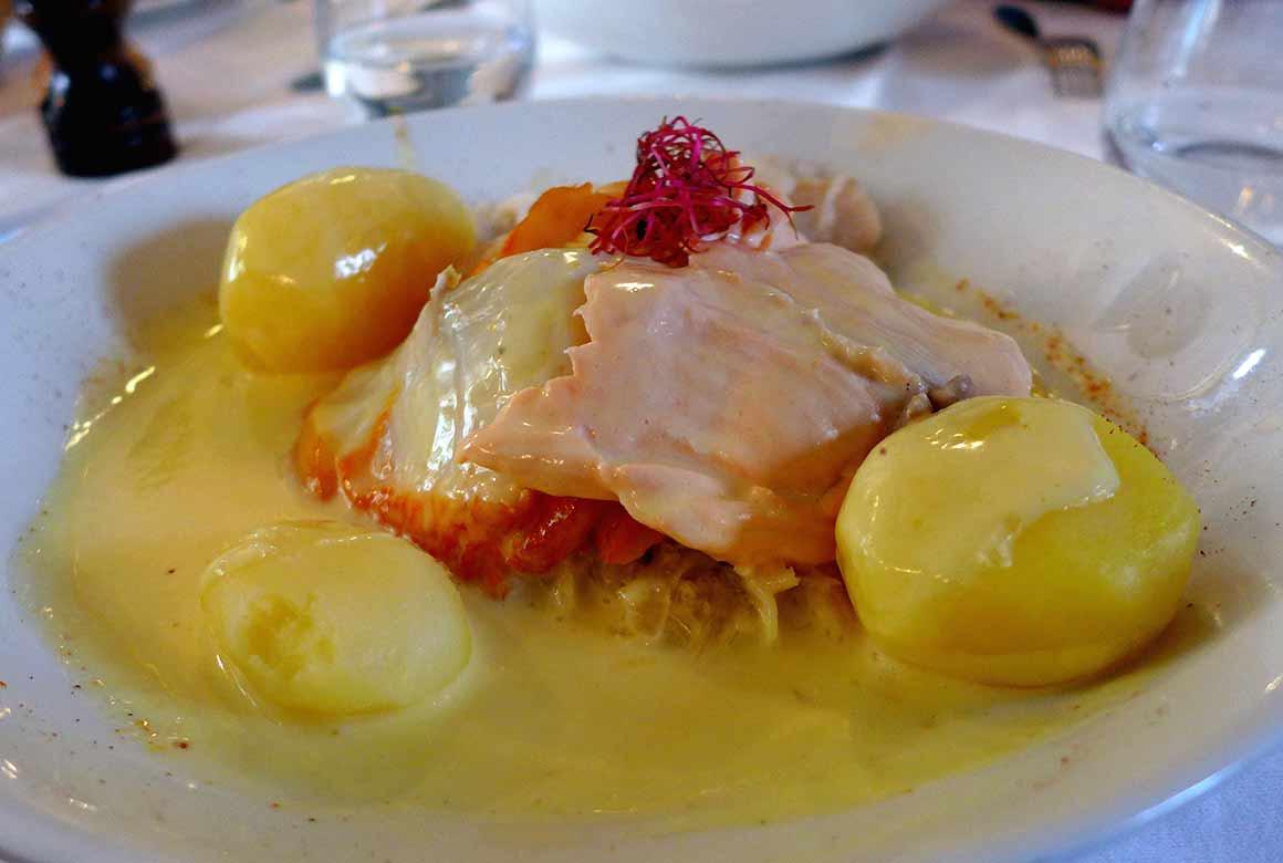 Restaurant Vin et Marée Murat, choucroute