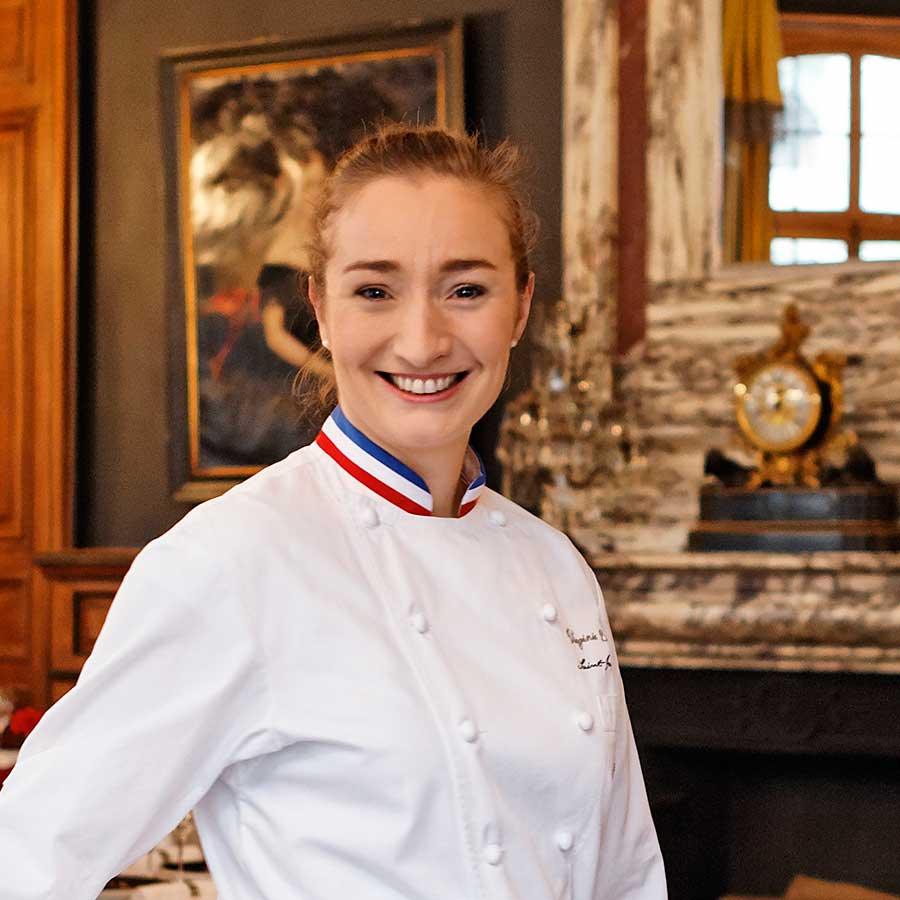 Chef Virginie Basselot