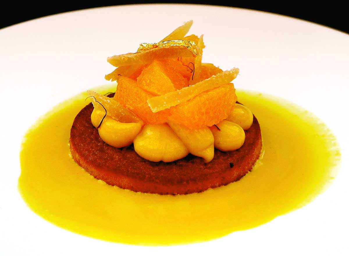 Brasserie Printemps : Moelleux à l'orange