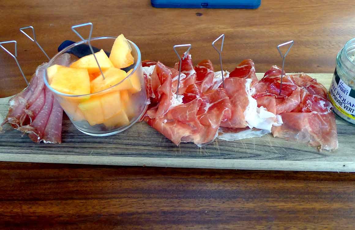 Restaurant Louisa Pampa : Planche de charcuteries