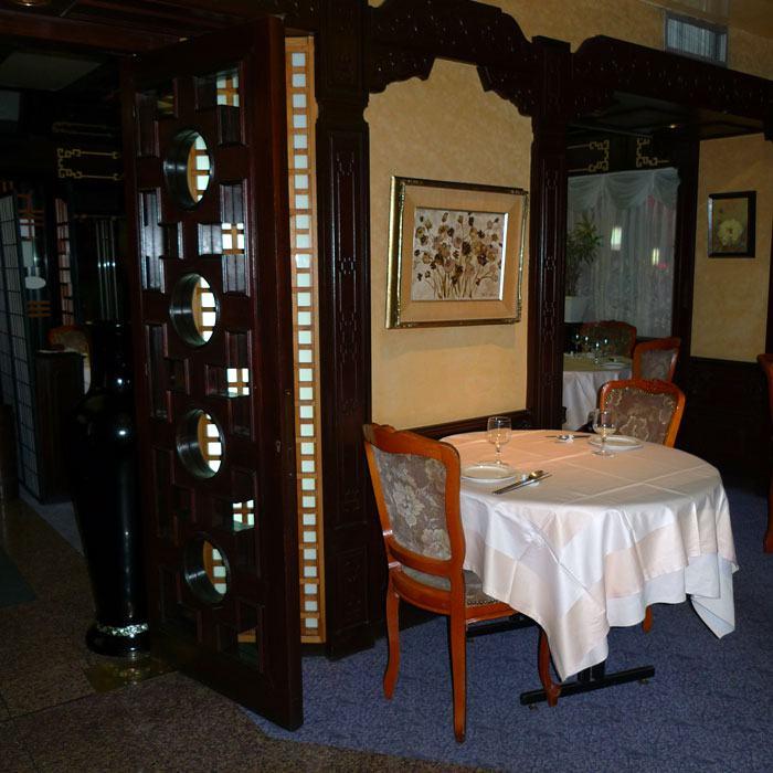 Restaurant Woo Jung, la salle