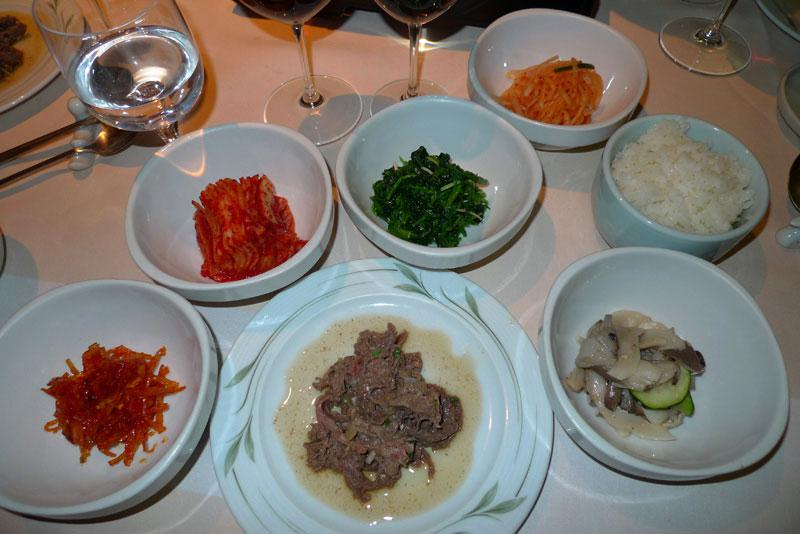 Restaurant Woo Jung, barbecue
