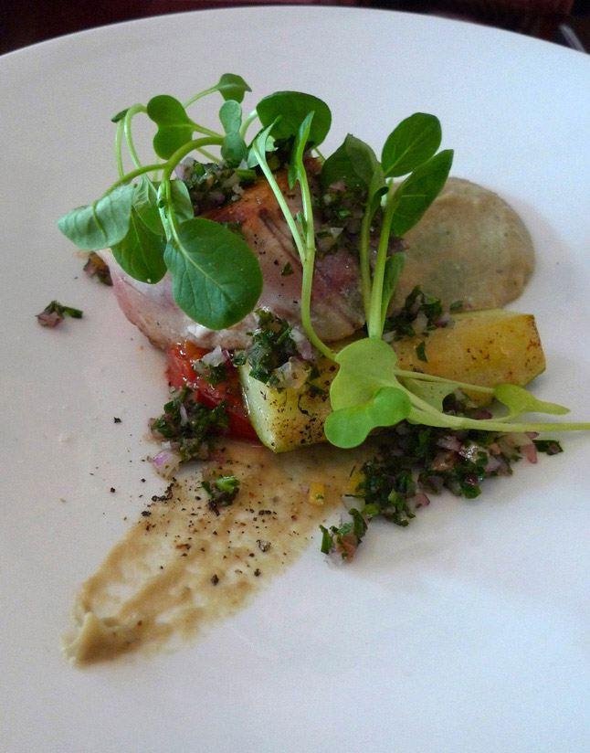 Restaurant Youpi & Voila : Thon blanc de ligne avec caviar