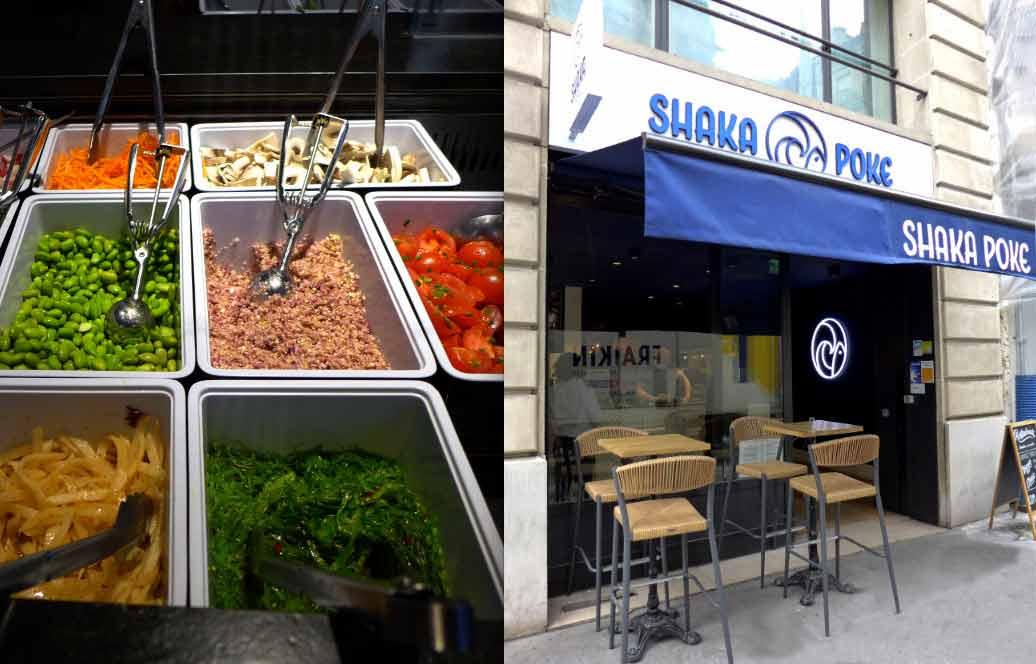 Le restaurant Shaka Poké