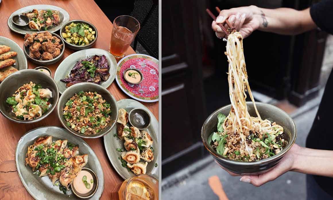 Mao Dumpling Bar tablée et Nouilles