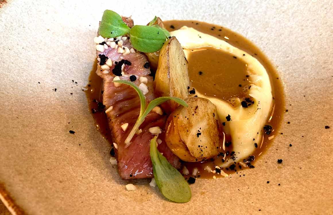 Restaurant Mano boeuf et pommes de terre