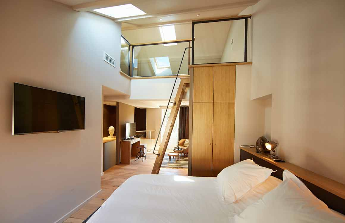 Hôtel L'Oustalet chambre