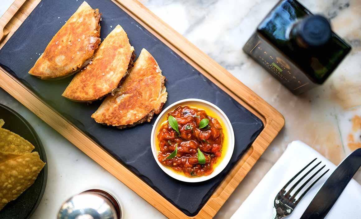 Restaurant Anahi, Quesadillas de Wagyu