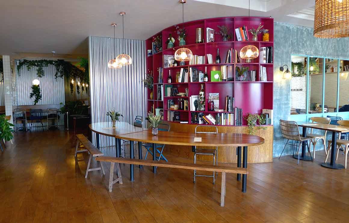 Restaurant Anco, la salle