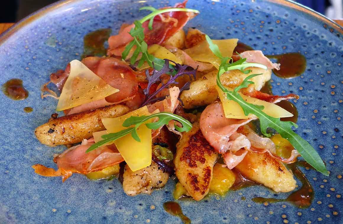 Restaurant Anco, les gnocchis