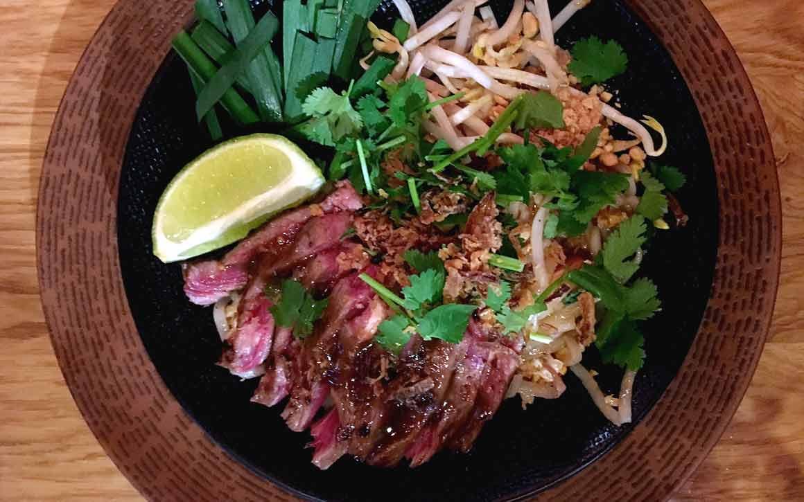 Restaurant Chang, phad thaï au boeuf