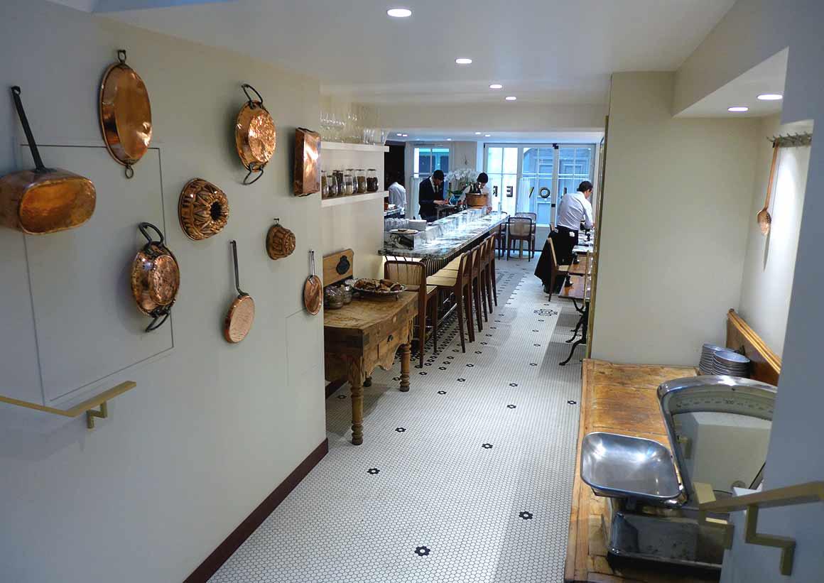 Restaurant Clover Grill, la salle