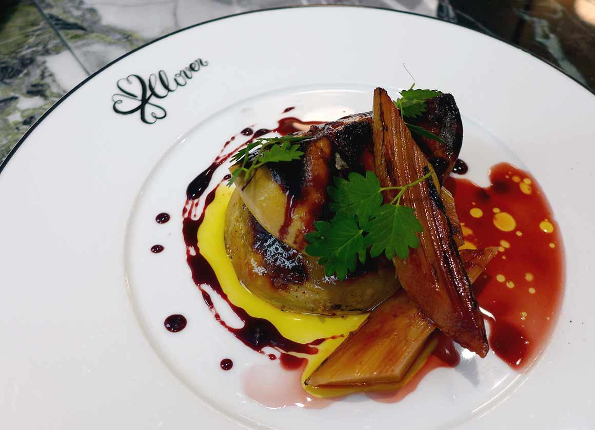Restaurant Clover Grill, le foie gras