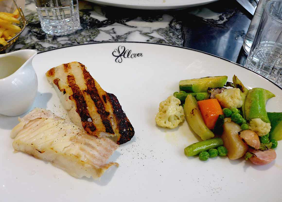 Restaurant Clover Grill, le poisson