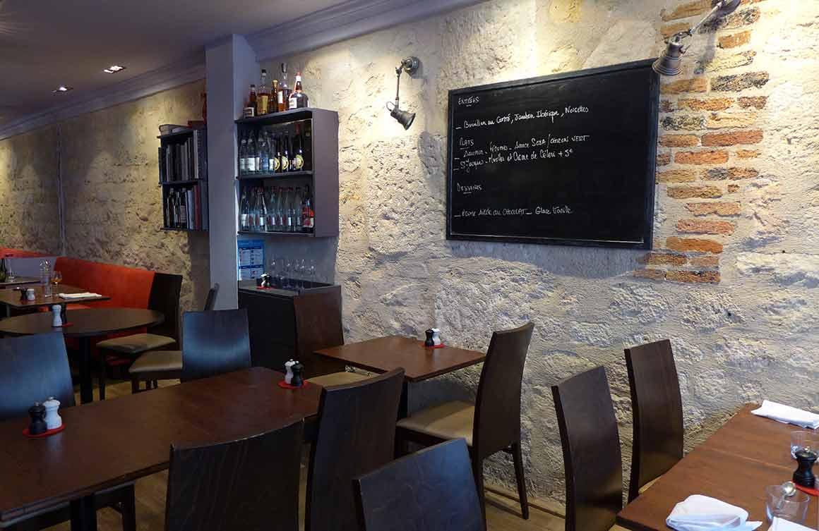 Restaurant L'Escient, La salle du restaurant