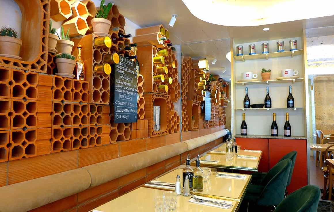 Restaurant Fuxia, la salle