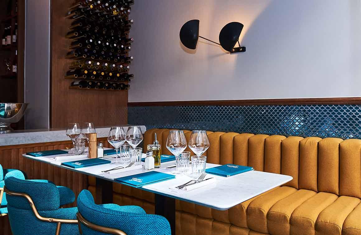 Restaurant Damigiana, la salle