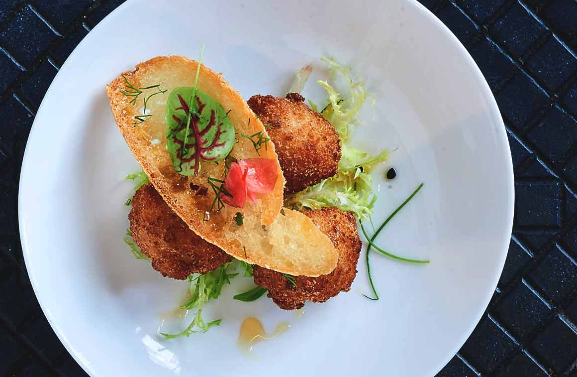 Restaurant Damigiana, un plat