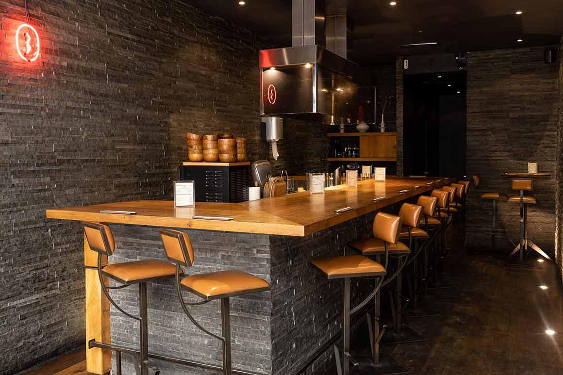 Le Gyoza Bar la salle du restaurant