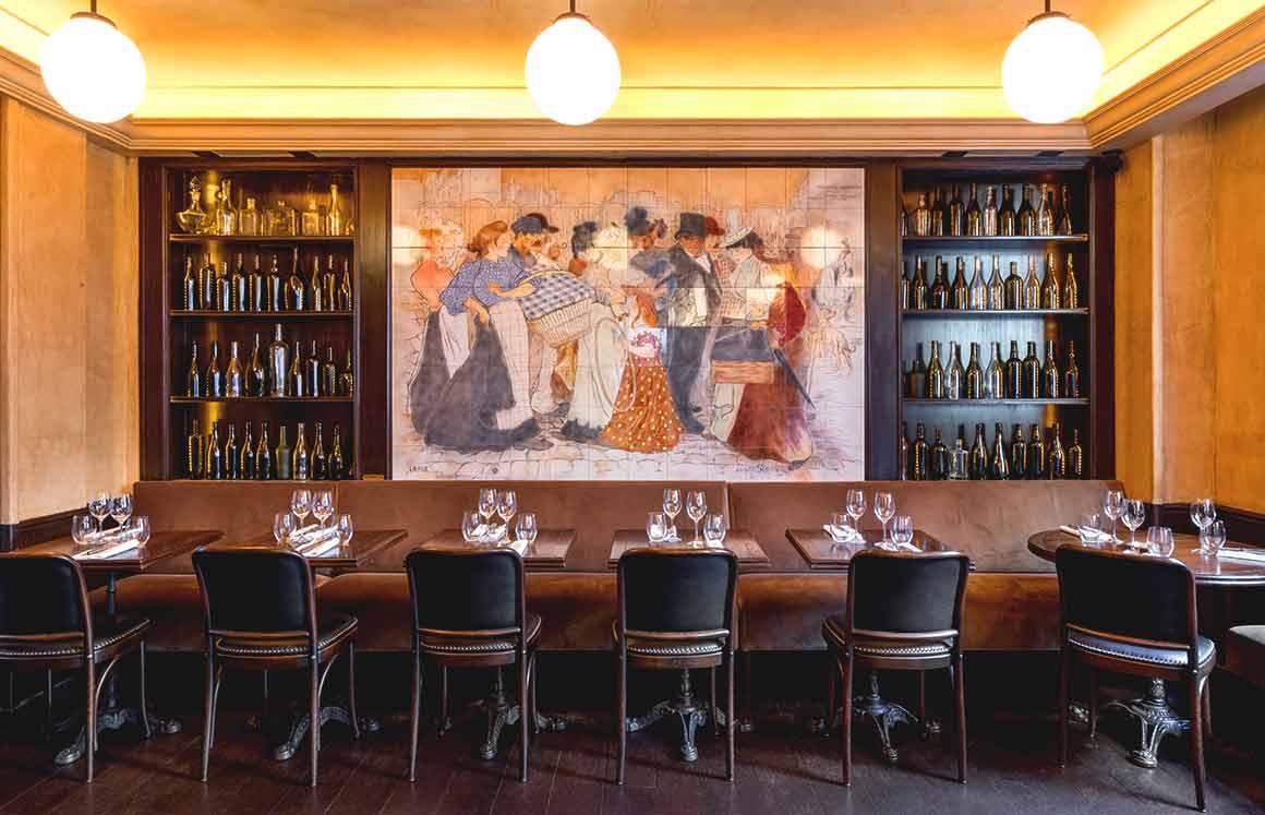 Restaurant La Causerie, La salle