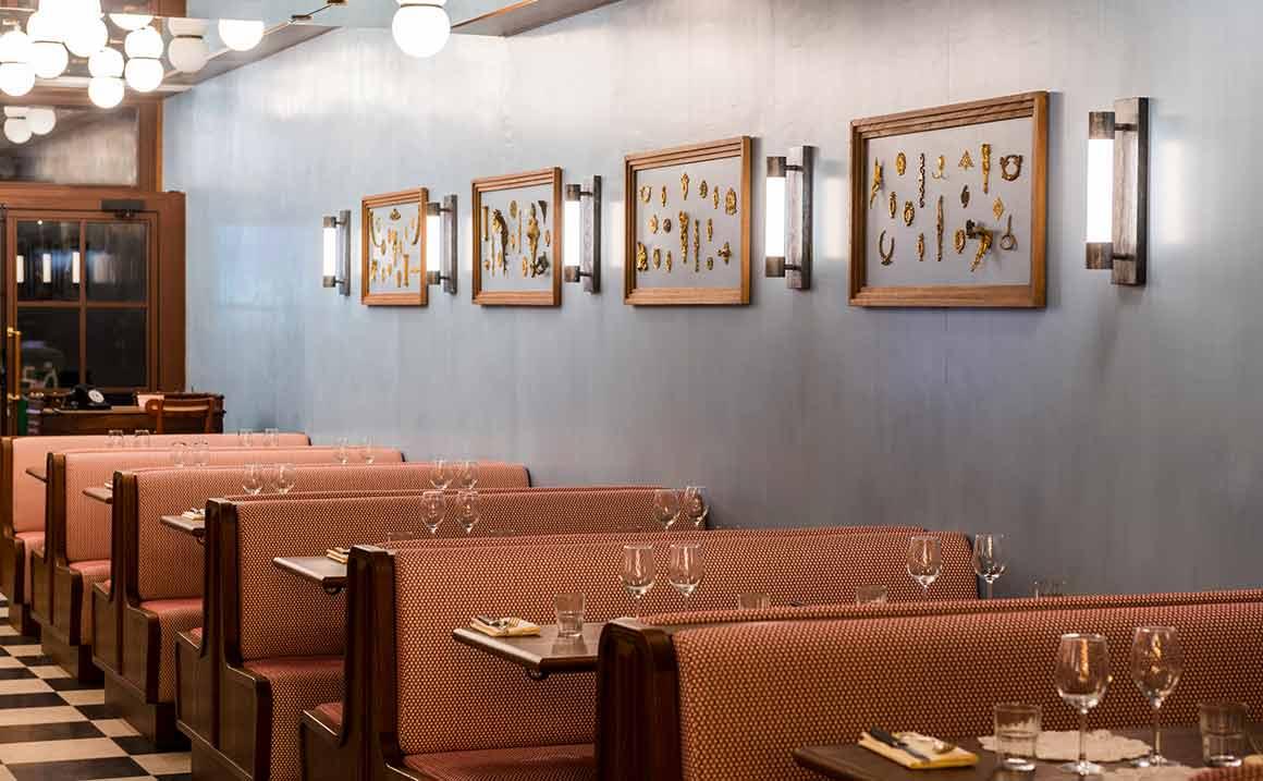 Brasserie Rosie, la salle